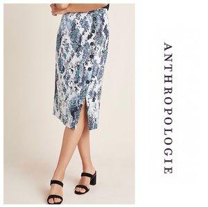 NWT Anthropologie Serpentine Skirt